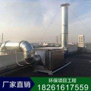 【喷淋塔+活性炭吸附箱